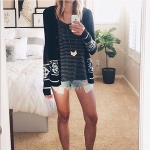 BDG Urban Outfitters Tribal Cardigan